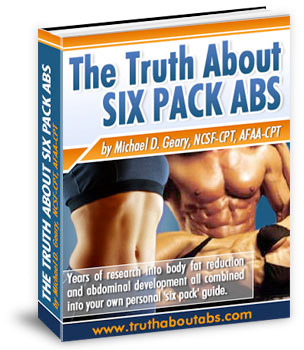 Getting six pack abs